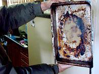 A imagem do rosto de Michael Jackson apareceu na gordura seca. Foto: Emílio Rotta/Ag. Free Lancer /Futura Press